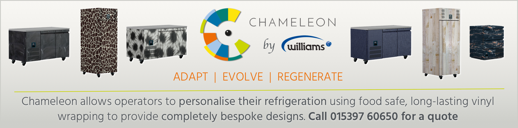 Williams Chameleon Refrigeration Wraps