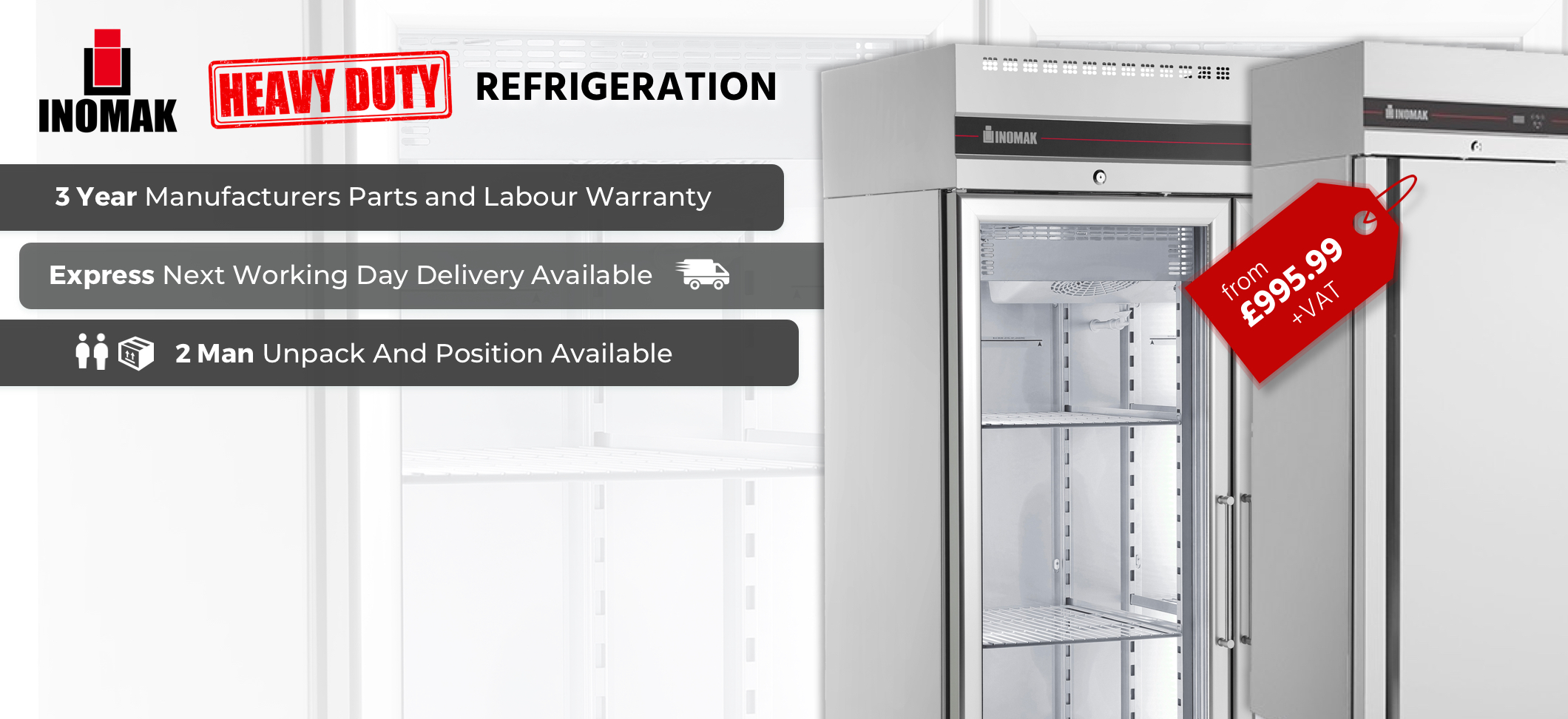 Inomak heavy Duty Refrigeration