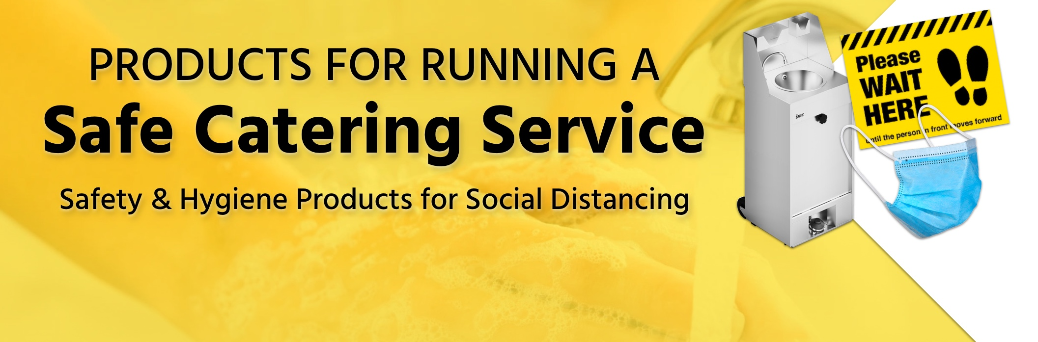 Social Distancing Catering Products