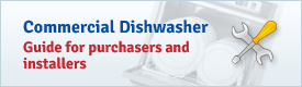Commercial dishwasher installation guide