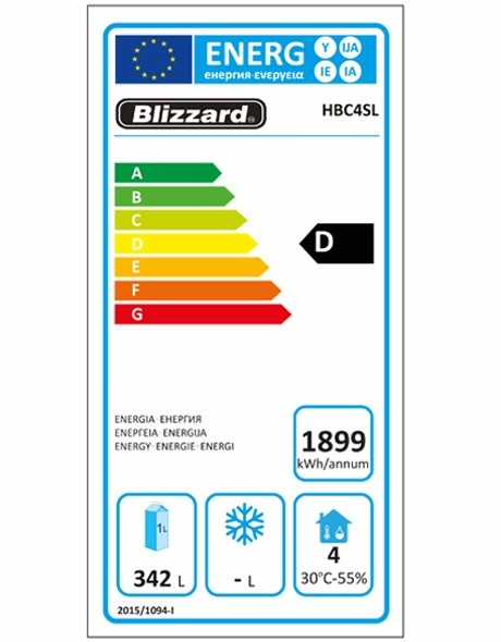 HBC4SL 511 Ltr Refrigerated Counter Energy Rating