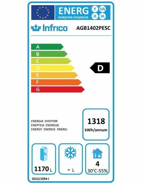 AGB1402PESC Fish Fridge Energy Rating
