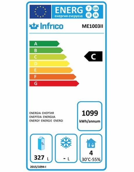 ME1003II Refrigerated Prep Counter Energy Rating