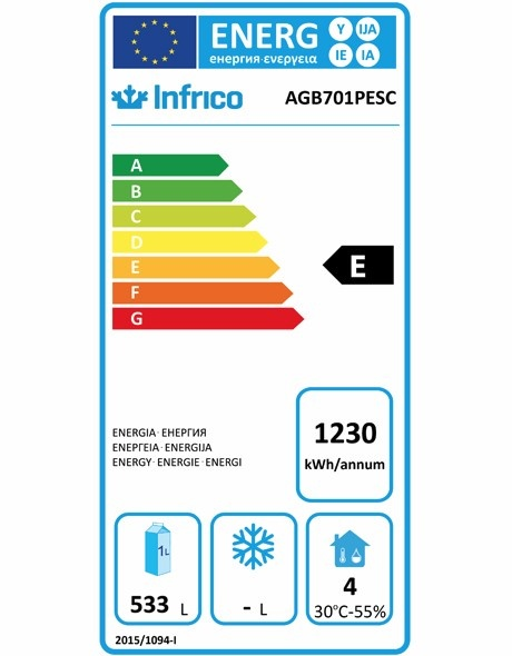 AGB701PESC Fish Fridge Energy Rating