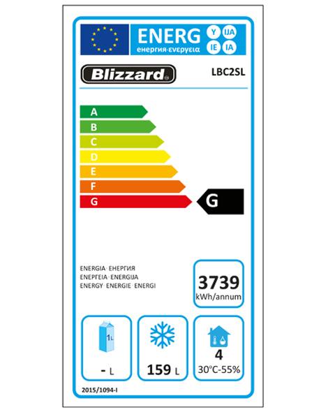 LBC2SL 260 Ltr Freezer Counter Energy Rating