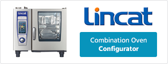 Lincat 6, 10 and 20 Grid Electric or Gas Combi Oven Configurator