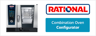 Rational 6, 10 and 20 Grid Electric or Gas Combi Oven Configurator