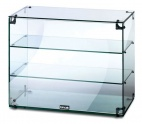 GC36 Glass Display Case With Open Back