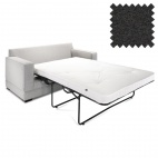Contract Two Seater Sofa Bed Modern Charcoal