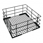 350mm Wire High Sided Glass Basket - CD242