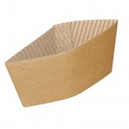 1000 x GD328 Corrugated Cup Sleeves for 8oz Cup
