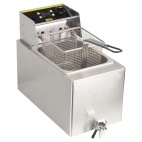 GH124 8 Ltr Single Fryer