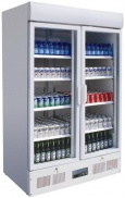 Double Glass Door Display Fridges (Upright)