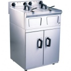 Pro-Lite LD48 2 x 8 Ltr Free Standing Double Electric Fryer