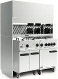 Canopies, Steam Hoods and Recirculation Units