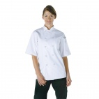 A372-S Volnay Chefs Jacket - White