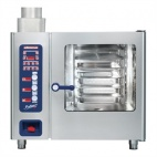 MB611 Multimax B Natural Gas Combination Oven with hand shower