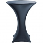 CG589 Jersey Stretch Table Cover - Black
