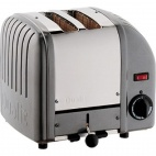 2 Slice Vario Toaster Metallic Charcoal