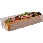 Disposable Open Ended Takeaway Tray 10in