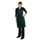B677 Butchers Apron Hunter Green