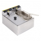 P107 2 x 3 Ltr Double Fryer