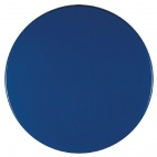 Werzalit Round Table Top Deep Blue 600mm