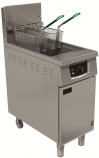 G401F/N 18 Ltr Natural Gas Fryer with Electric Filtration