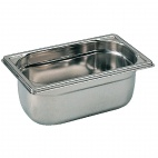 K070 Stainless Steel 1/4 Gastronorm Pan 100mm