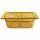 K593 Polycarbonate Gastronorm Pan - 1/4 One Quarter Size