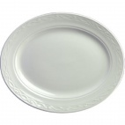 Churchill Chateau Blanc Oval Plates 355mm