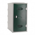 Plastic Single Door Locker Hasp and Staple Lock Green 600mm