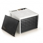 White CD028 9 Tray Dehydrator with Timer
