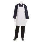 Basic Bib Apron White