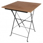 Faux Wood Bistro Table Square 600mm