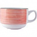 Rio Pink Slimline Stacking Cups 100ml - V7698