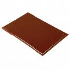 J035 Extra Thick Brown High Density Chopping Board