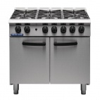 SR G750-6-N 6 Burner Natural Gas Oven Range