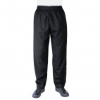 A582-L Vegas Chefs Trousers - Black