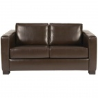 DP910 Faux Leather 2 Seater Sofa