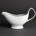 U831 Whiteware Gravy Boat