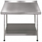 F20602W Stainless Steel Wall Table (Fully Assembled)