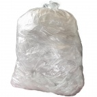 Medium Duty Clear Bin Bags 80Ltr