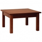 DL448 Wooden Coffee Table Walnut Finish
