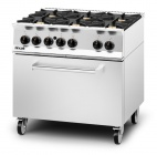 Opus 800 OG8002/N/DD Natural Gas 6 Burner Range