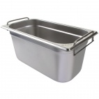 CB188 Stainless Steel 1/3 Gastronorm Pan With Handles 150mm