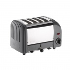Vario Classic Toaster 4 Slot Cobble Grey 40514