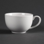 CD737 Whiteware Elegant Saucers