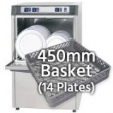 450mm Basket Dishwashers (14 plates)