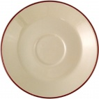 Empire Claret Saucers 117.5mm